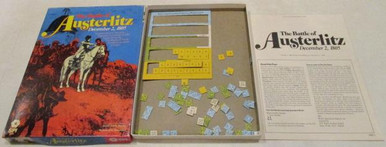 Vintage Board Games - Battle of Austerlitz - 1980