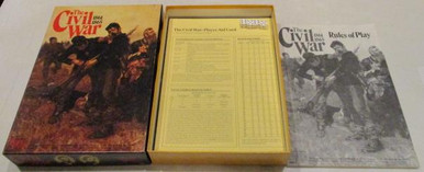 Vintage Board Games - Civil War 1861-1865 - 1983