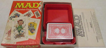 Vintage Board Games - Mad Magazine Card Game - 1980