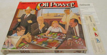 Vintage Board Games - Oil Power - Strike It Rich in Oil - 1982