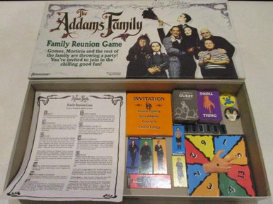 Vintage Board Games - Addams Family, The - 1991