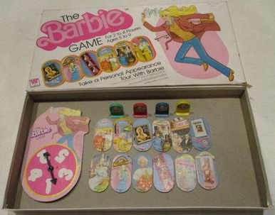 Vintage Board Games - Barbie Game - 1980