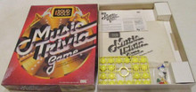 Vintage Board Games - Solid Gold Music Trivia Game - 1984