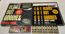 Vintage Board Games - Oldies But Goodies - The Ultimate Music Game - 1984