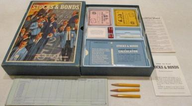 Vintage Board Games - Stocks & Bonds - 1964