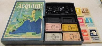 Vintage Board Games - Acquire - 1968