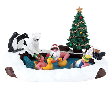 73331 - North Pole Hot Springs - Lemax Table Pieces