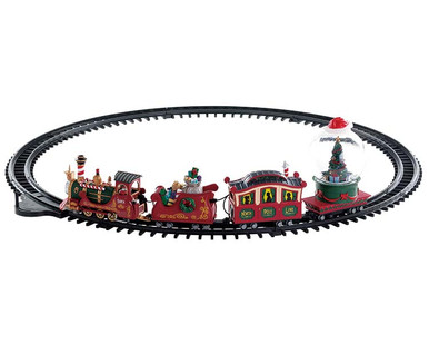 74223 - North Pole Railway, Battery-Operated (4.5v) - Lemax Misc. Accessories