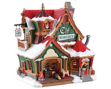 75291 - The Elf Workshop, Battery-Operated (4.5v) - Lemax Santa's Wonderland
