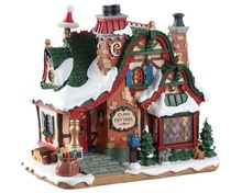 75292 - The Claus Cottage, Battery-Operated (4.5v) - Lemax Santa's Wonderland