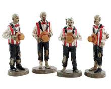 82562 - Horrific Harmonies, Set of 4 - Lemax Spooky Town Figurines