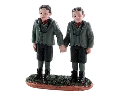 82564 - Spooky Twins - Lemax Spooky Town Figurines