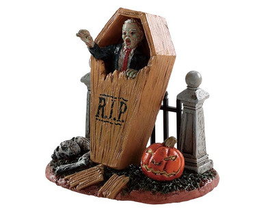 82566 - Coffin Break - Lemax Spooky Town Figurines