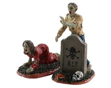 82567 - Zombies, Set of 2 - Lemax Spooky Town Figurines