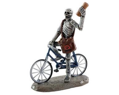 82568 - Spookytown News! - Lemax Spooky Town Figurines