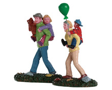 82582 - Coming Home from the Fair, Set of 2 - Lemax Figurines
