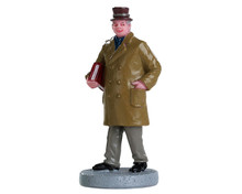 82583 - Off to the Library - Lemax Figurines