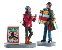 82584 - Shopping Teamwork - Lemax Figurines