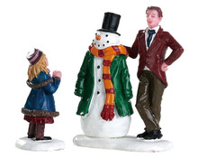 82585 - Dad's Snowman, Set of 2 - Lemax Figurines