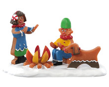 82592 - Campfire Cookies - Lemax Sugar N Spice Figurines