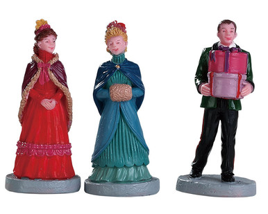 82597 - New Holiday Hats, Set of 3 - Lemax Figurines