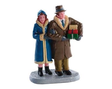 82611 - Christmas Couple - Lemax Figurines
