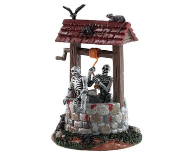 83343 - Ghouls in Well - Lemax Spooky Town Accessories