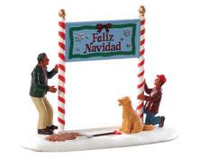 83352 - Feliz Navidad - Lemax Table Pieces