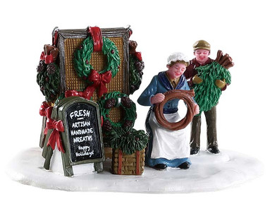 83362 - Handmade Wreaths - Lemax Table Pieces