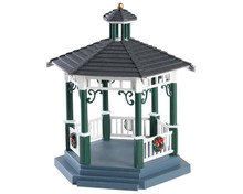 83369 - Victorian Park Gazebo - Lemax Table Pieces