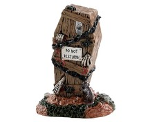 84340 - Do Not Disturb - Lemax Spooky Town Accessories