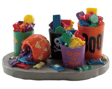 84341 - Buckets of Candy - Lemax Spooky Town Accessories