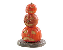 84344 - Stacked Spooky Pumpkins - Lemax Spooky Town Accessories