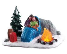 84361 - Night Time Campfire, Battery-Operated (4.5v) - Lemax Table Pieces