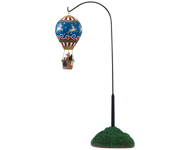 84388 - Reindeer Hot Air Balloon, Battery-Operated (4.5v) - Lemax Table Pieces