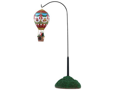 84389 - Holiday Cheer Hot Air Balloon, Battery-Operated (4.5v) - Lemax Table Pieces
