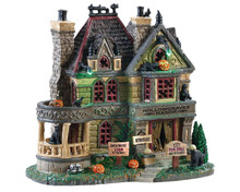 85306 - Hollowgraves Manor, with 4.5v Adaptor - Lemax Spooky Town Houses