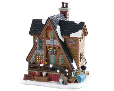 85321 - Pete's Fishing Cabin - Lemax Vail Village