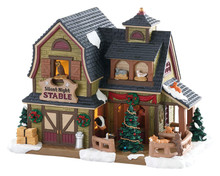 85325 - Silent Night Stable - Lemax Vail Village