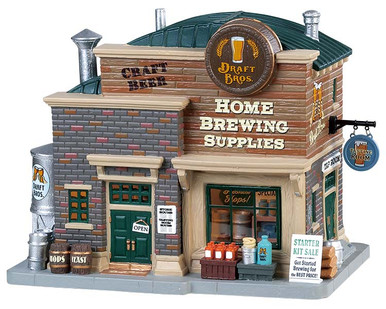 85329 - Draft Bros. Home Brewing Supplies - Lemax Harvest Crossing