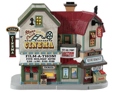 85332 - Stone Creek Cinema - Lemax Harvest Crossing