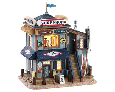 85339 - Skip's Surf Shop - Lemax Plymouth Corners