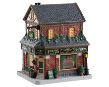 85340 - Golden Rose Cigars - Lemax Caddington Village