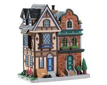 85376 - King Street Rowhouses - Lemax Caddington Village
