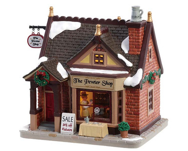 85378 - The Pewter Shop - Lemax Caddington Village