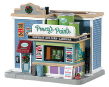 85381 - Percy's Paints - Lemax Jukebox Junction