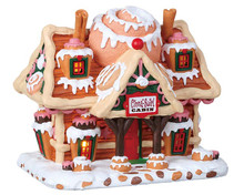 85383 - Cinna-Swirl Cabin, Battery-Operated (4.5v) - Lemax Sugar N Spice Houses