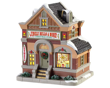 85411 - Jingle Bells & More Christmas Store - Lemax Caddington Village