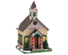 85414 - Wayside Church - Lemax Caddington Village