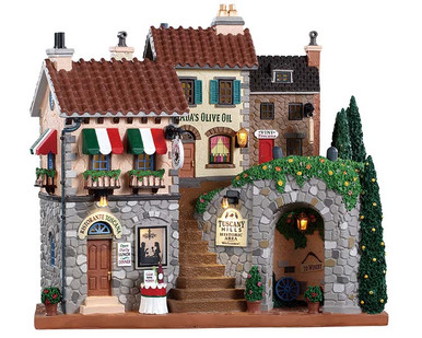 85320 - Tuscany Hills, Battery-Operated (4.5-Volt) - Lemax Facades